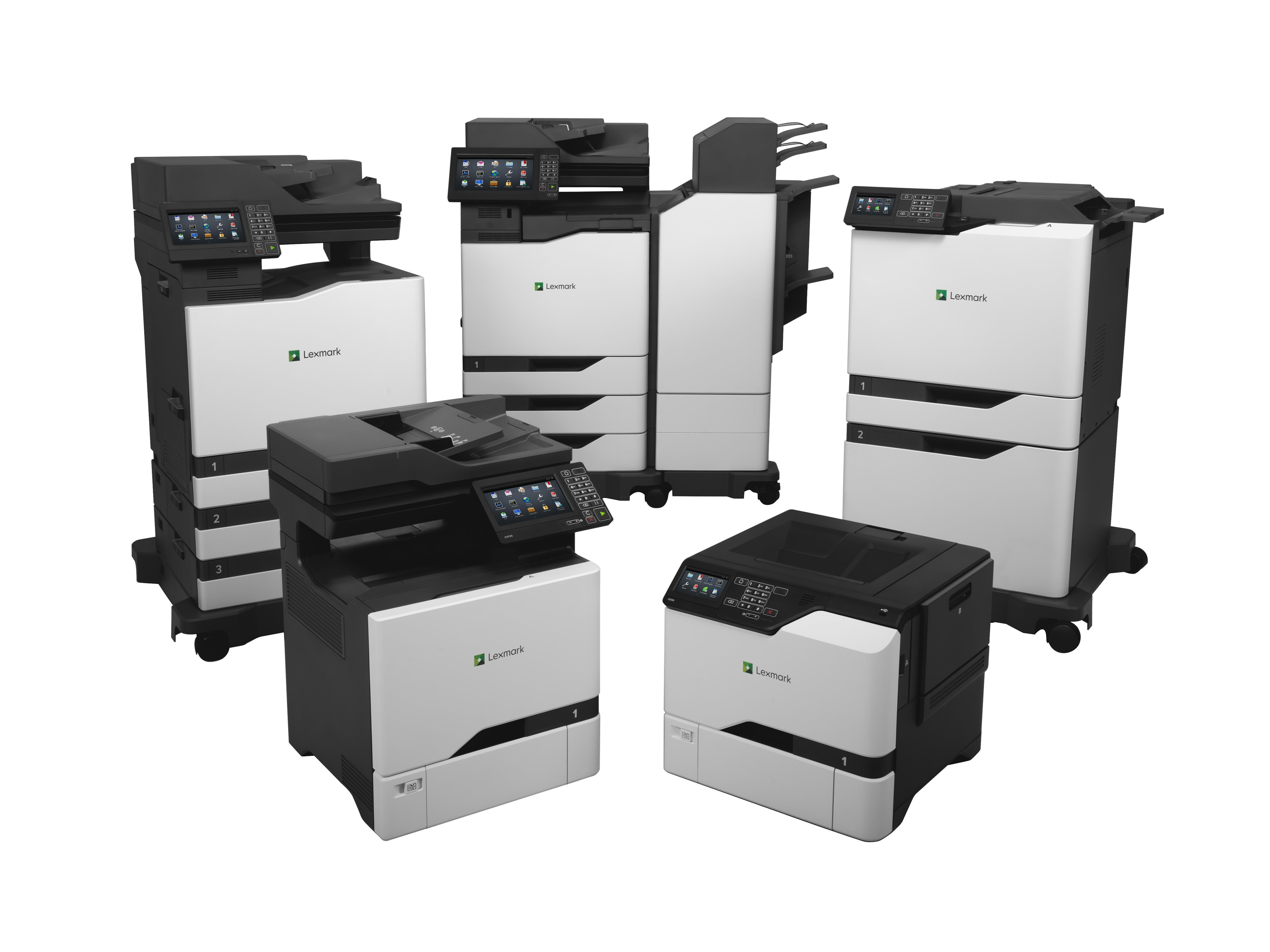 Sette nuove stampanti per Lexmark