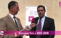 Giovanni Toti a RED 2016