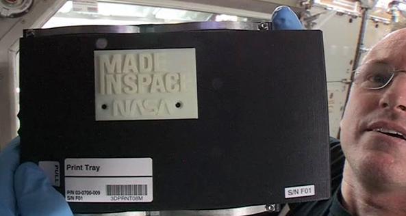 Prima stampa 3d nello spazio