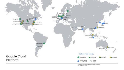 google cloud carbon free