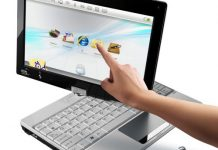 notebook touch