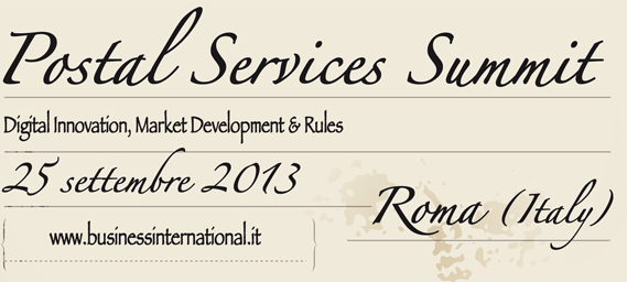 POSTAL SERVICE SUMMIT 2013