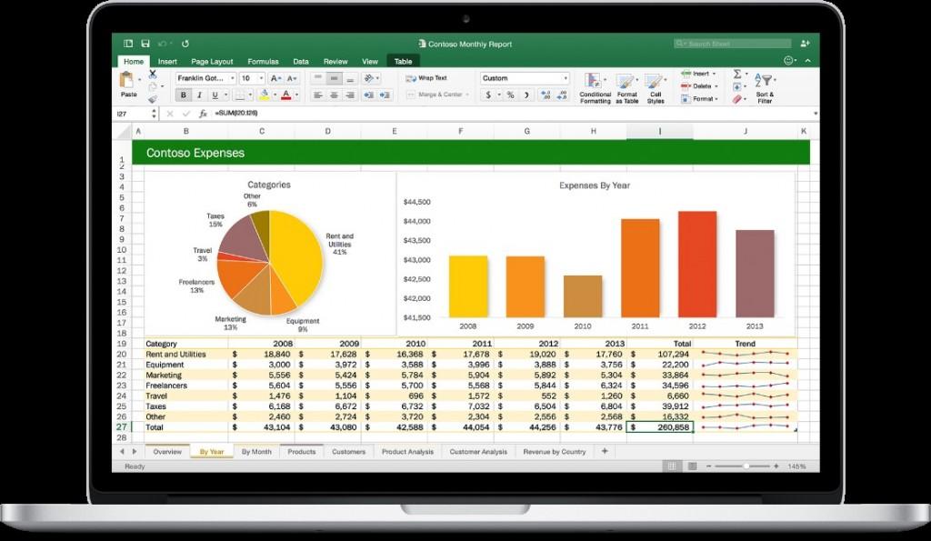Excel_Office 2016 per Mac