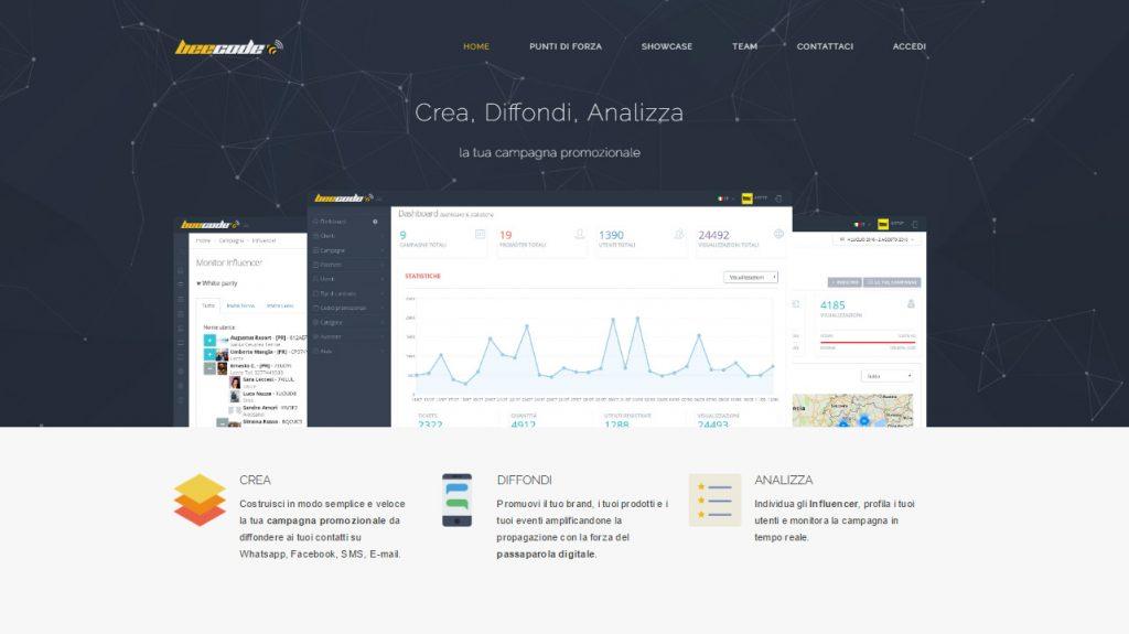 Homepage-Beecode