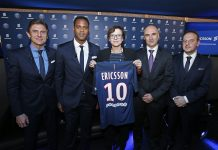 Ericsson e Paris Saint-Germain