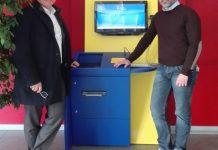 Marco Durante, ceo Phonetica e Alberto Bozza, assessore ai servizi demografici del Comune di Verona