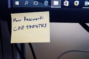 passwordpostit