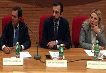 da sinistra Moretta, Toccafondi e Franzese