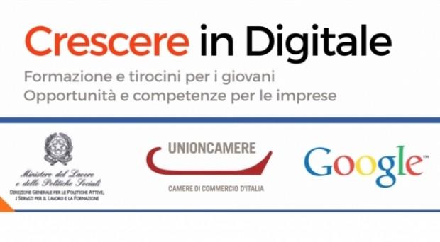 5000 tirocini con crescere in digitale, ministero del lavoro e google