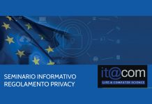 Seminario Informativo sul Regolamento Privacy