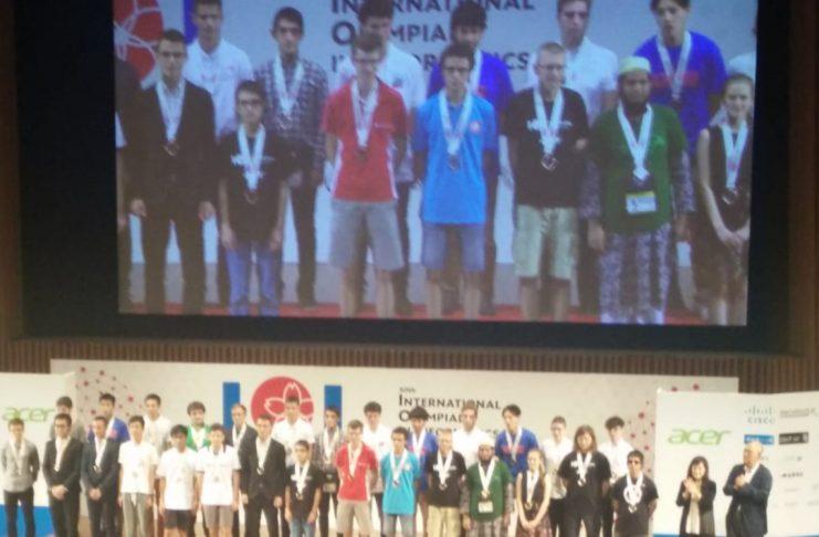 Premiazione Olimpiadi Internazionali di Informatica