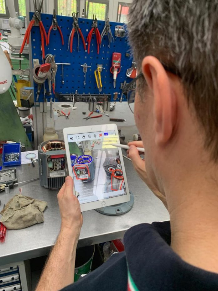 AR Remote Assistance: arriva in Italia la app di SEW-EURODRIVE