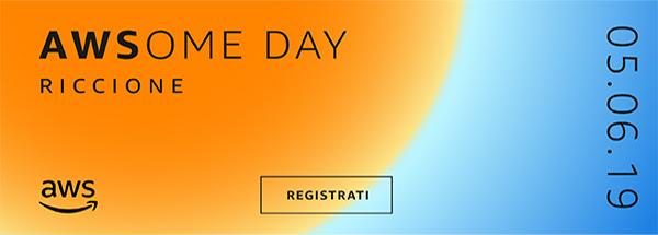 AWSome Day: muovi i primi passi su Amazon Web Services