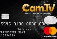 Cam.TV lancia la CAM CARD, per convertite i like in denaro
