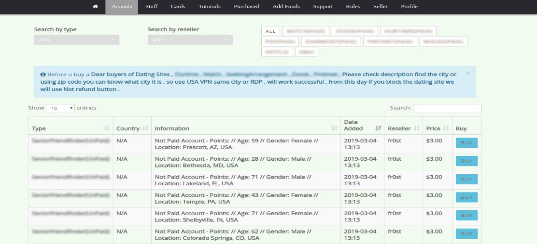 Truffe di phishing su siti di incontri