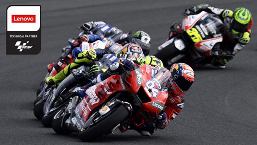 Lenovo partner tecnologico di Dorna Sports per il MotoGP