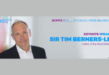 Save the date: il 25 luglio Tim Berners-Lee a Campus Party