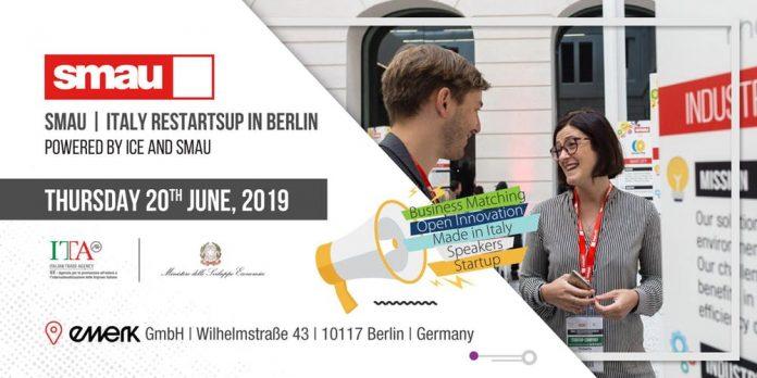 Al via Smau | Italy RestartsUp in Berlin
