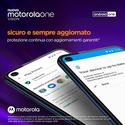 motorola one vision: design, innovazione e Android One
