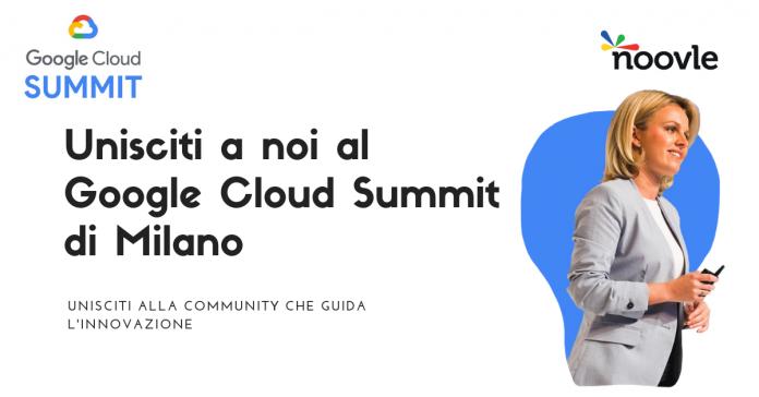 Google Cloud Summit: Regione Puglia e Noovle protagonisti dell'innovazione