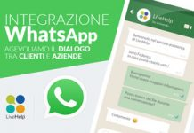 LiveHelp: customer service integrato con WhatsApp