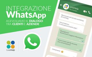 LiveHelp: customer service integrato con WhatsApp