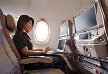 Wi-Fi a 40.000 piedi di altezza per i passeggeri Emirates