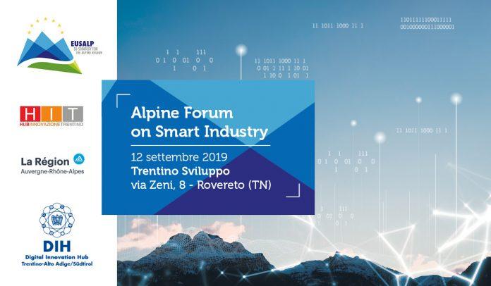 Alpine Forum on Smart Industry: quali opportunità per le PMI?