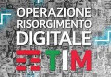 TIM presenta l'Operazione Risorgimento Digitale