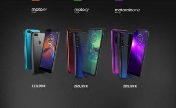 Tecnologia per tutti con i nuovi smartphone Motorola