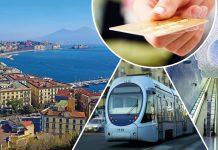 Pagamenti contactless sui mezzi di Napoli, Avellino e Salerno