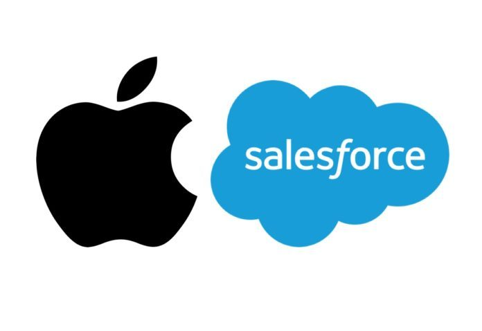 Apple e Salesforce annunciano la loro partnership strategica