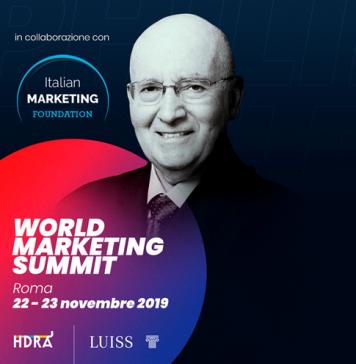 Philip Kotler al World Marketing Summit