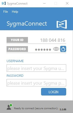 Sygma Connect login