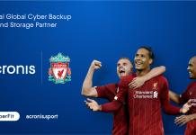 Acronis è il nuovo partner ufficiale del Liverpool Football Club