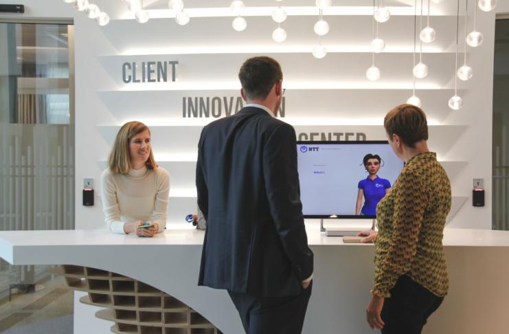 NTT inaugura il proprio Client Innovation Center a Bruxelles