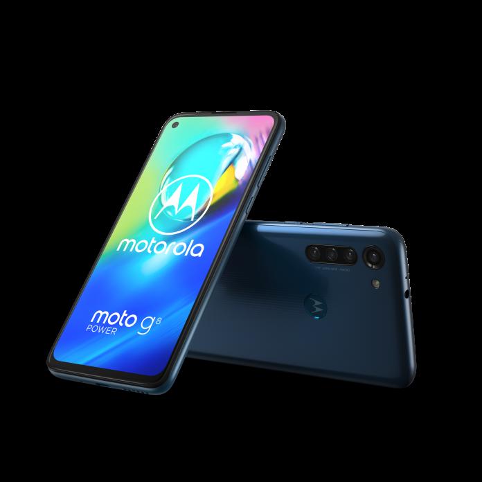 Motorola presenta lo smartphone premium moto g8 power