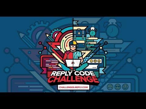 Reply Code Challenge: aperte le iscrizioni