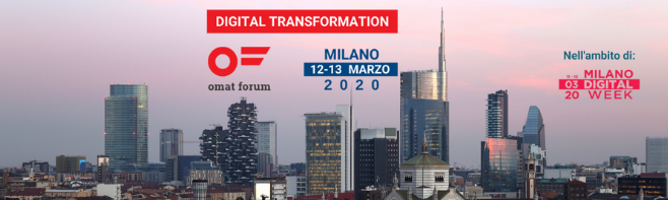 omat forum fa tappa a Milano in occasione della Digital Week