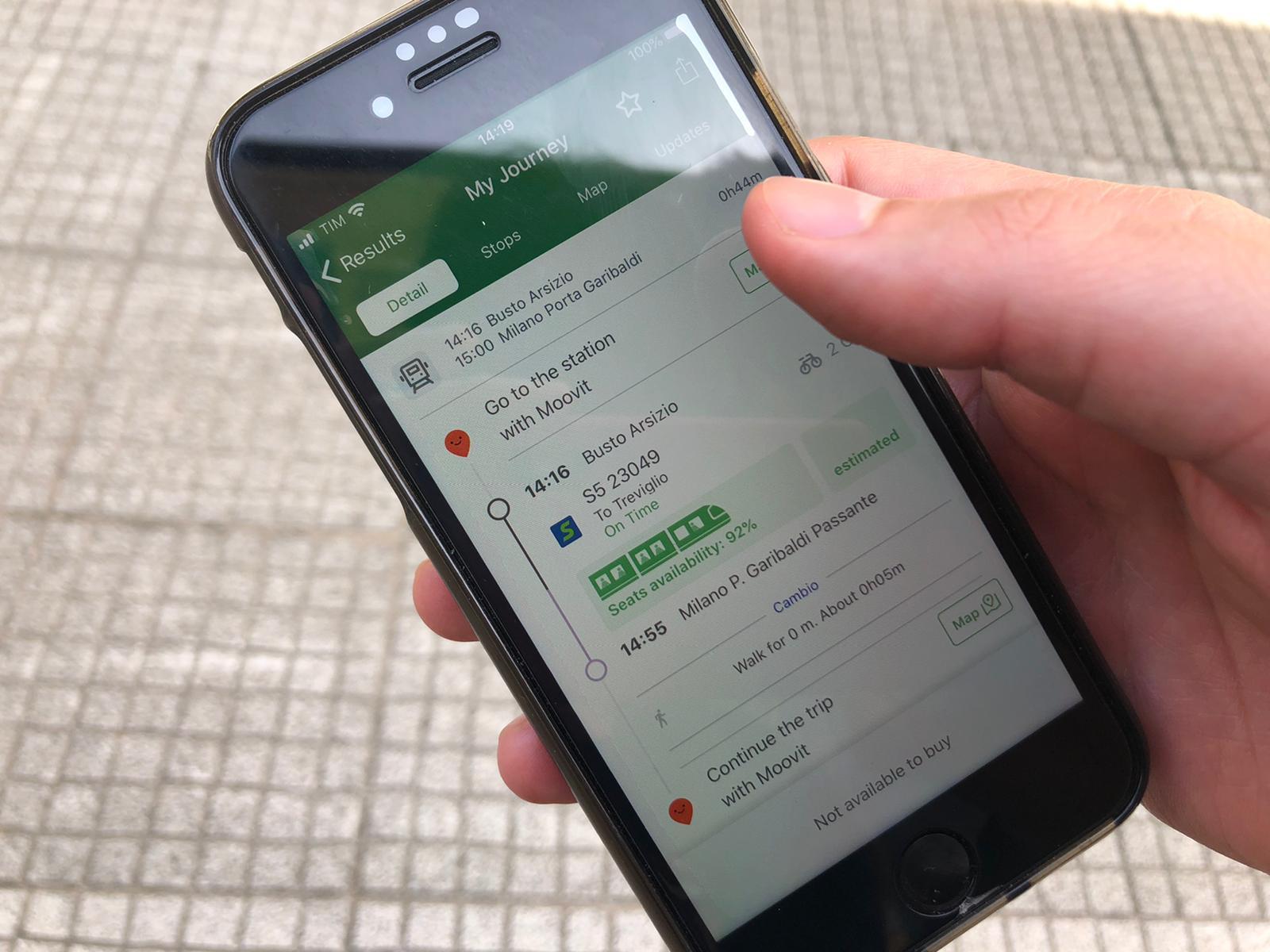 Forma E Colori Treviglio trenord: l'app dice il numero di passeggeri - bitmat