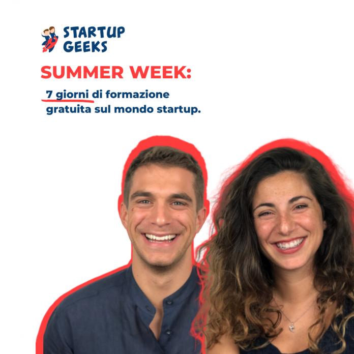 Save the date: parte la Startup Geeks Summer Week