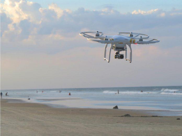 Droni controlleranno i bagnanti sulle spiagge italiane
