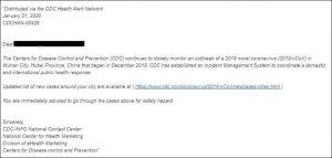Emotet: attenzione allo spam a tema COVID-19