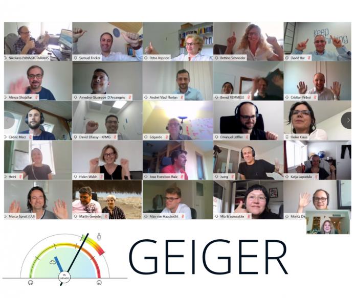progetto geiger commissione europea