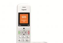 Gigaset E39: il nuovo cordless per tutta la famiglia