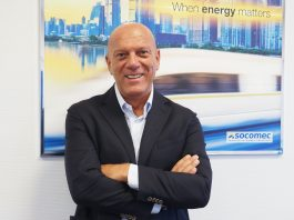 Stefano Costa è il nuovo 4BA Sales & Service Managing Director Italy di Socomec e nuovo Presidente e Amministratore Delegato di Socomec Elettrotecnica.