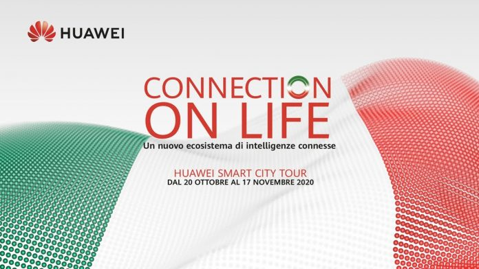Save the date: in partenza Huawei Smart City Tour 2020