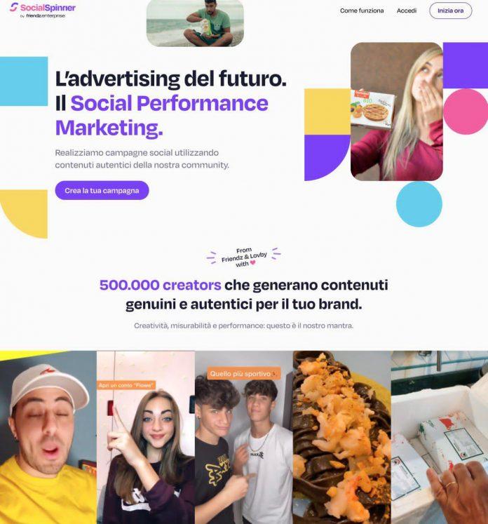 Social Spinner, il primo tool di Social Performance Marketing