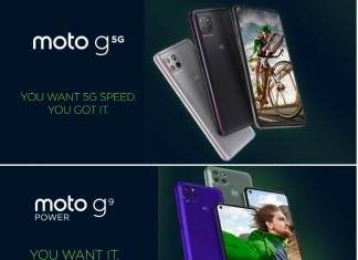 Motorola presenta i nuovi moto g 5G e moto g9 power
