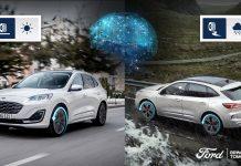 Ford Kuga Hybrid: l'intelligenza artificiale ottimizza l'aderenza su strada e i consumi